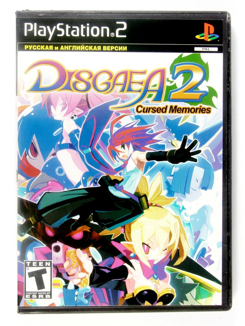 Диск Sony PS2 Disgaea 2: Cursed memories (Sony PS2)