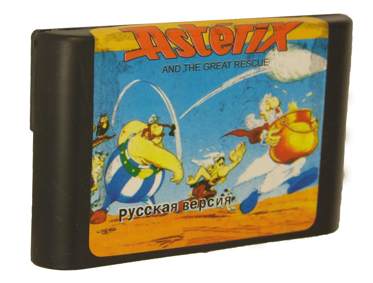 Картридж для Sega Asterix and the great rescue (Sega)