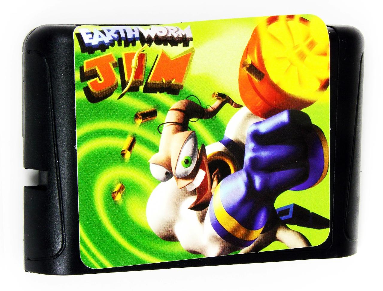 Earth Worm JIM (Sega)