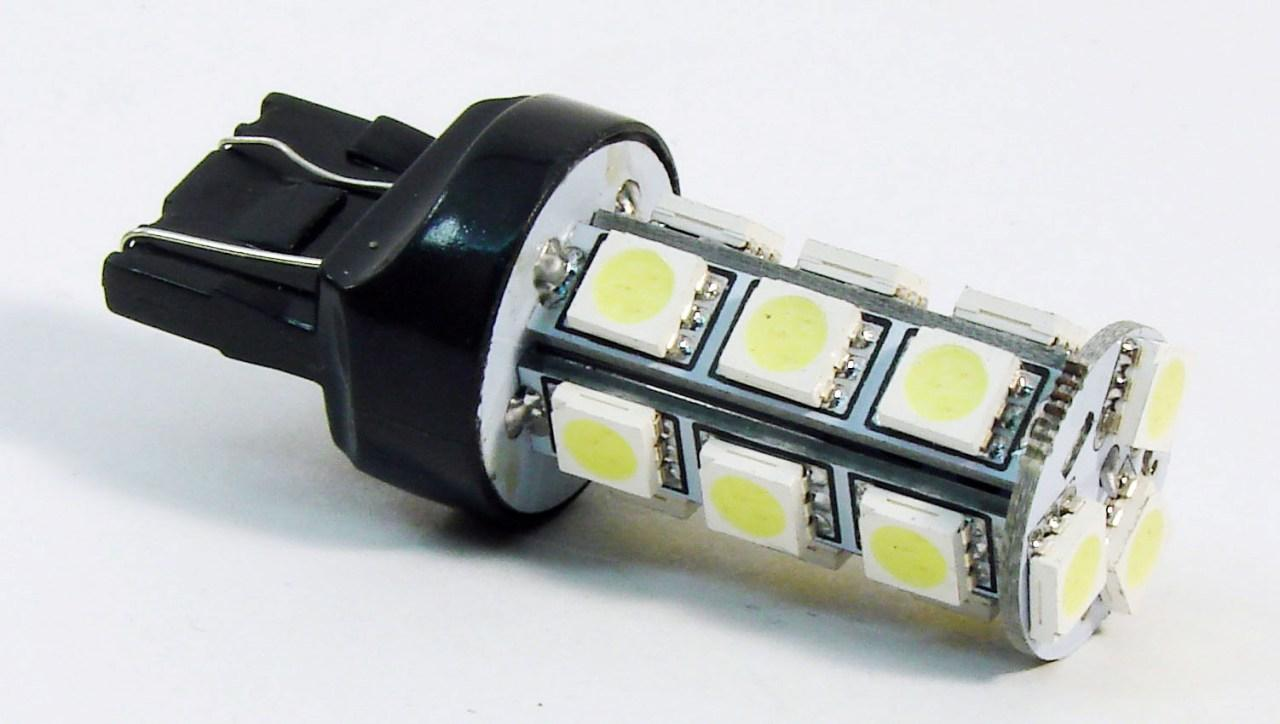 Автолампа светодиодная 18 LED T20 7440 SMD5050 White Backup Park LED Car light bulp lamp