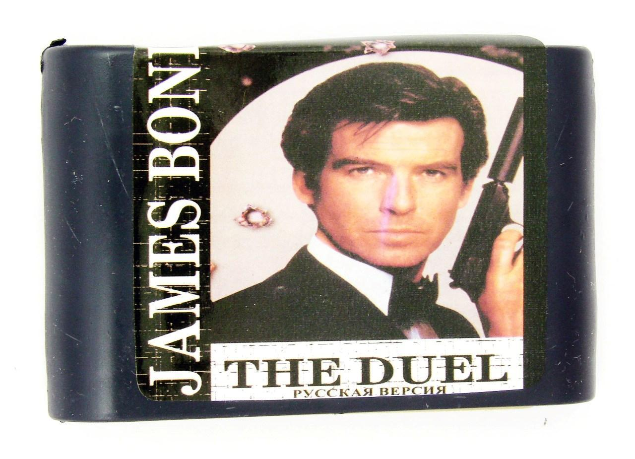 Картридж для Sega James Bond The duel (Sega)