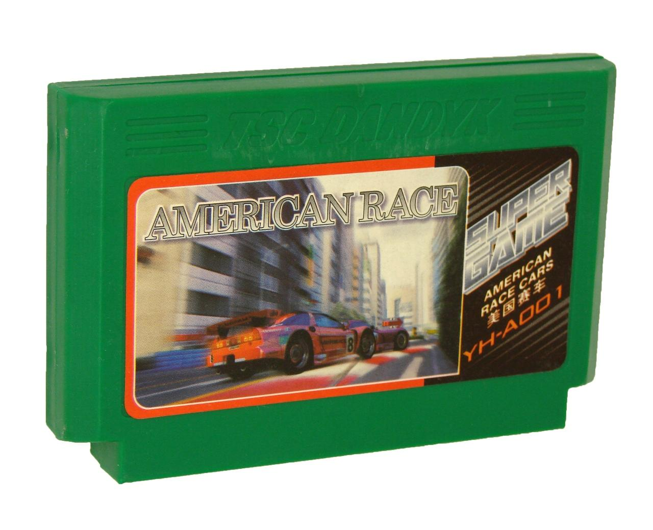 Картридж для Денди American Race Cars (Dendy)