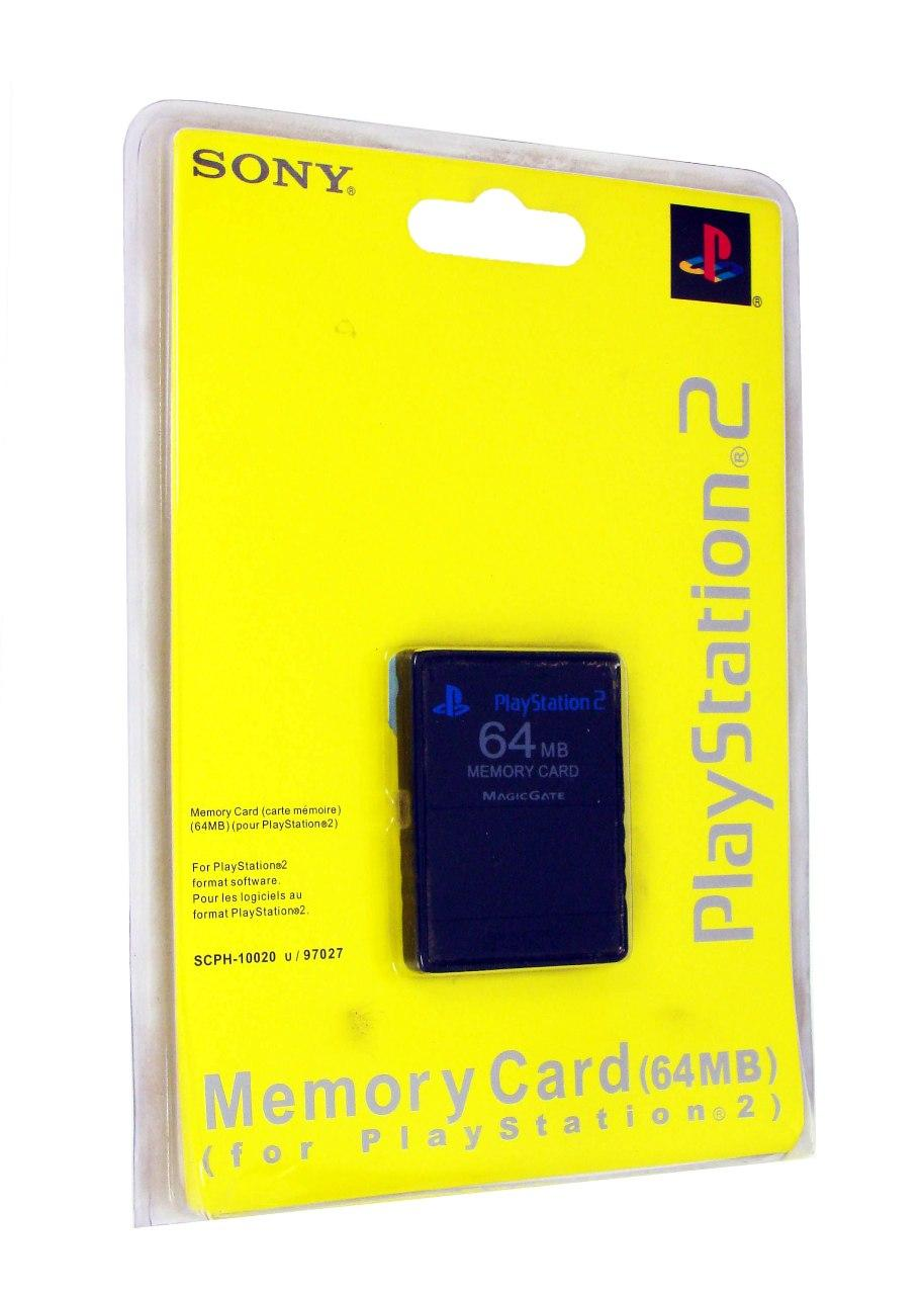 Memory Card Sony PS2 64 mb