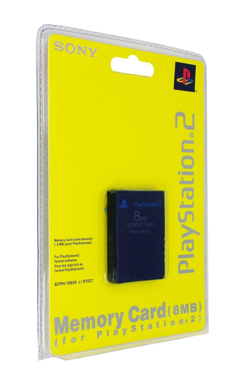 Memory Card Sony PS2 8 mb (SCPH-10020)