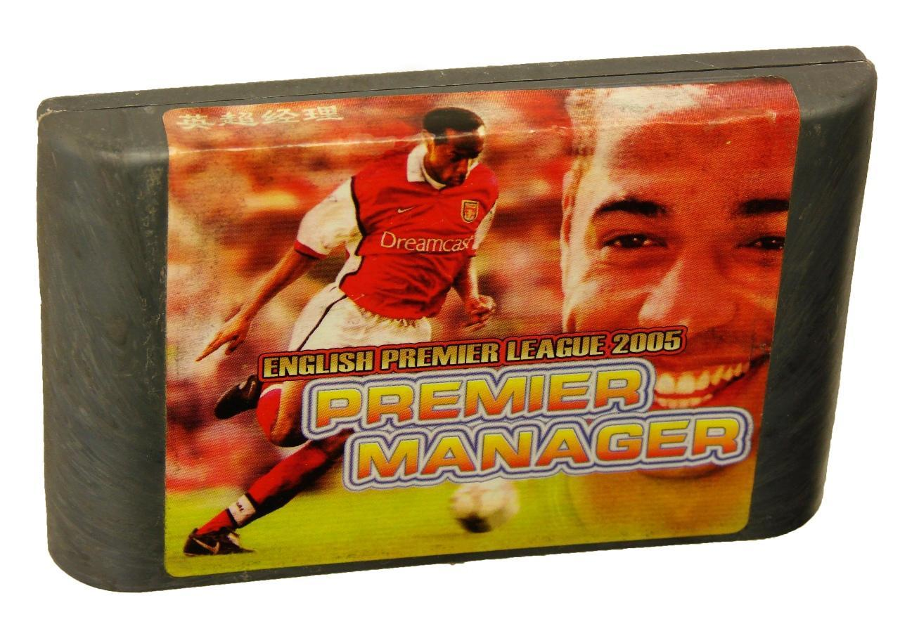 Картридж для Sega Premier Manager (English premier league 2005) (Sega)
