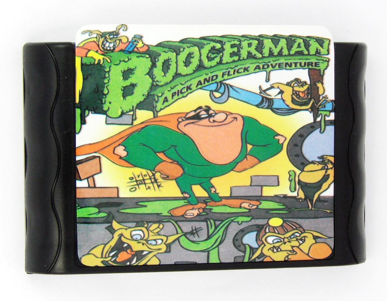 Картридж для Sega Boogerman: a pick and flick adventure (Sega)